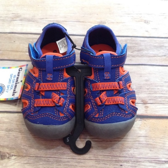 9eeae01e0 Garanimals Shoes | Orange Blue Closed Toe Sandals | Poshmark